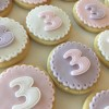 Vanilla Biscuits with Age Toppers