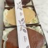 Personalised Plant-based Artisan White Chocolate Easter Egg Dairy-Free Gluten-Free Vegan Gift