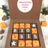 Personalised Message Chocolates for Big/Lil Sis (C)