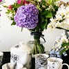 Freesia and Orange Blossom mug with floral decadence collection