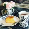 Sratgazer and Cinnamon mug and plate