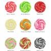 Personalised Heart Confetti Giant Wedding Lollipops
