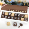 Personalised I LOVE YOU GRANDMA box of Chocolates