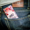 Organic Fairtrade Goji & Vanilla Chocolate Bar 60g in pocket