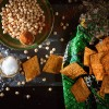 Gluten-free Chickpea Crisps Lightly Spiced