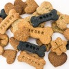 Our handmade dog biscuits come in 6 different flavours