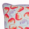 Prawn Cushion Close Up