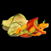 Air Dried Peppers & Courgettes