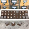 Cocoapod personalised 50th Birthday Chocolate gift