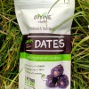 100% Organic Large Ajwah Dates - Re-sealable Snack Pouches