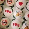 Image Printed Cupcake Gift Box