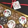 Milk & Dark Chocolate Christmas Penguins Gift Box
