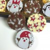 Milk & White Chocolate Christmas Penguins Gift Box