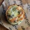 Stilton & Spinach Potato Cake