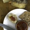 Handmade Quince fruit cheese (membrillo)