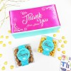 Personalised 'Thank you' Gluten Free Mix & Match Chocolate Box