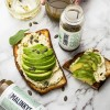 Lean Green juice with avocado toast