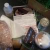 Luxury Chocolate Ganache Sandwich Cake Kit Unpacked