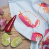 Prawn Tea Towel