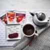 Matcha tea snack with Omega3