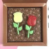 Personalised Message Chocolate with Roses