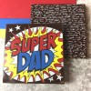Superdad Chocolate Squares with Optional Personalised Message