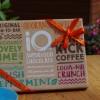 Gift Pack of iQ Organic Superfood Chocolate (6 bars)