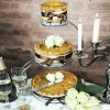 3 Tier Round Wedding Pork Pies