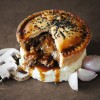 Steak, Shallot & Mushroom Pie