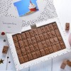 Personalised Chocolate Card - 4 Rows