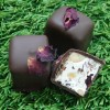 Rose, cranberry and nut nougat