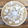 Winter Wonderland Edible Cookie Dough Tub