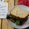 Golden Linseed Loaves of Bread (Gluten free, Vegan, Soya free)