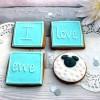 I Love Ewe Valentine's cookies