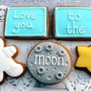Love You To The Moon Cookie Set