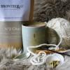 Chai hot chocolate label