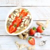 Strawberry & Peanut Butter Instant Porridge