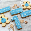 Personalised First Birthday Cookie Gift