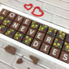 Skulls and Roses Message Chocolates