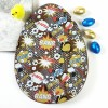 Large Milk Chocolate Easter Egg with Comic Graphic Design