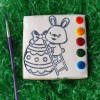 Easter Bunny Paint Your Own Cookies (Set of 3)