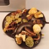 Dark Chocolate Fruit and Nut Medallions
