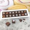 Personalised 'Happy Years' Anniversary Chocolates