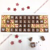 cocoapod personalised you are engaged chocolates