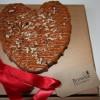 Valentines Salted Caramel Brownie Heart (Serves 8)