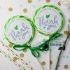 Personalised 'Thank You' Giant Wedding Lollipops