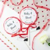 Personalised 'Traditional' Giant Wedding Lollipops