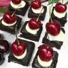 Glitter Cherry Bombs Brownies