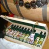12 Mini Bottles of Premium Palinka in the Wooden box