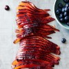 Raspberry Vodka & Blueberry Infused Smoked Salmon
